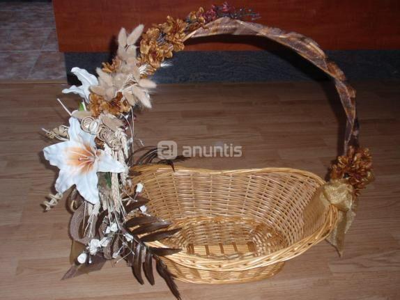 Arreglar canastas para boda imagui for Cestas decoracion
