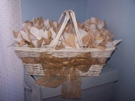 cmo decorar cestas de mimbres 3 - Como Decorar Cestas De Mimbre