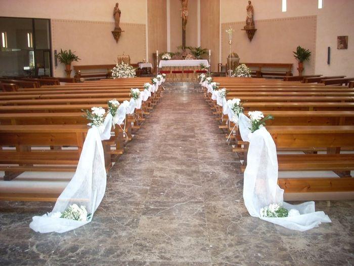 Bancos iglesia p gina 3 organizar una boda foro for Sillas para novios en la iglesia