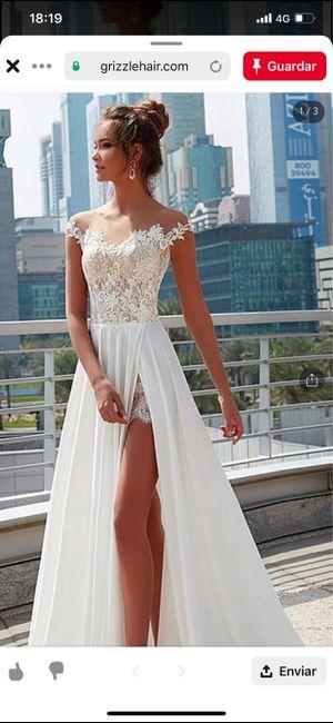 Precio del vestido de novia 2