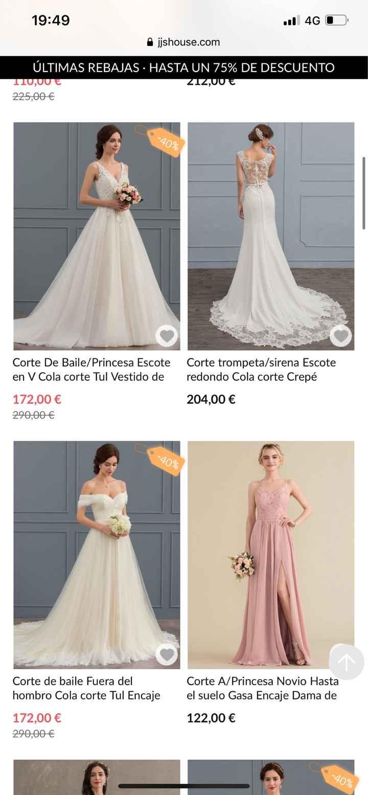 Opciones para encontrar un vestido lowcost - 1
