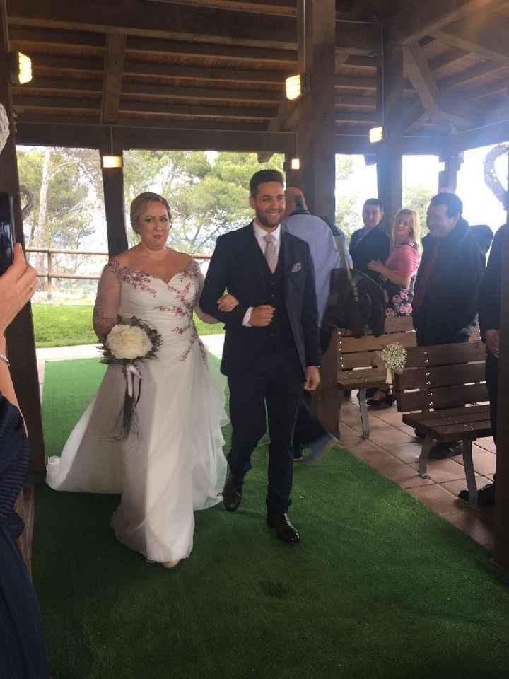 Entrada de la novia con hijos - 1
