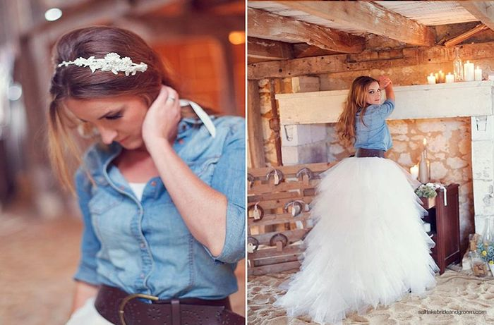 novia con chaqueta vaquera - página 2 - moda nupcial - foro bodas