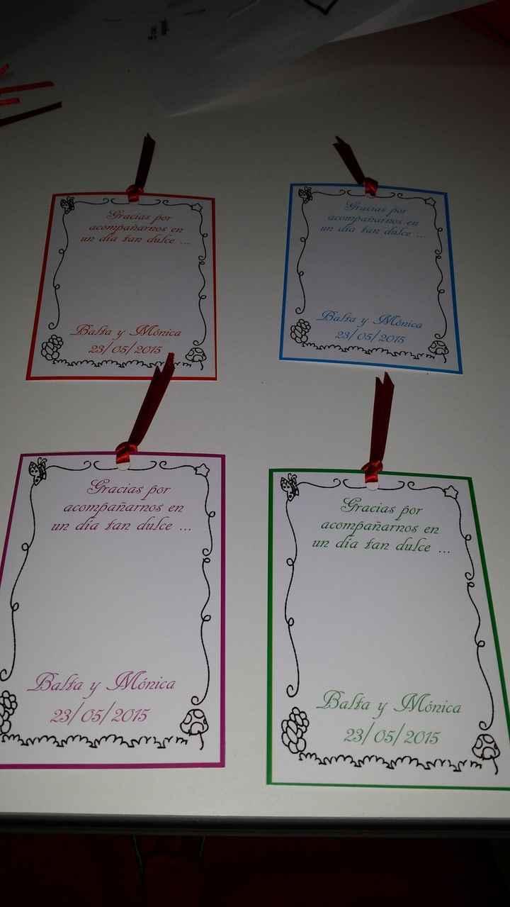 Nuestras tarjetas de agradecimiento - 2