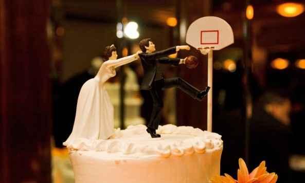 cake topper baloncesto