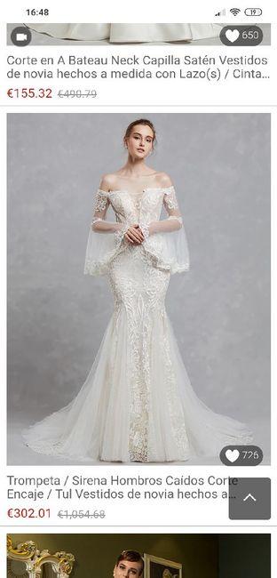 Vestidos de novias económicos - 1