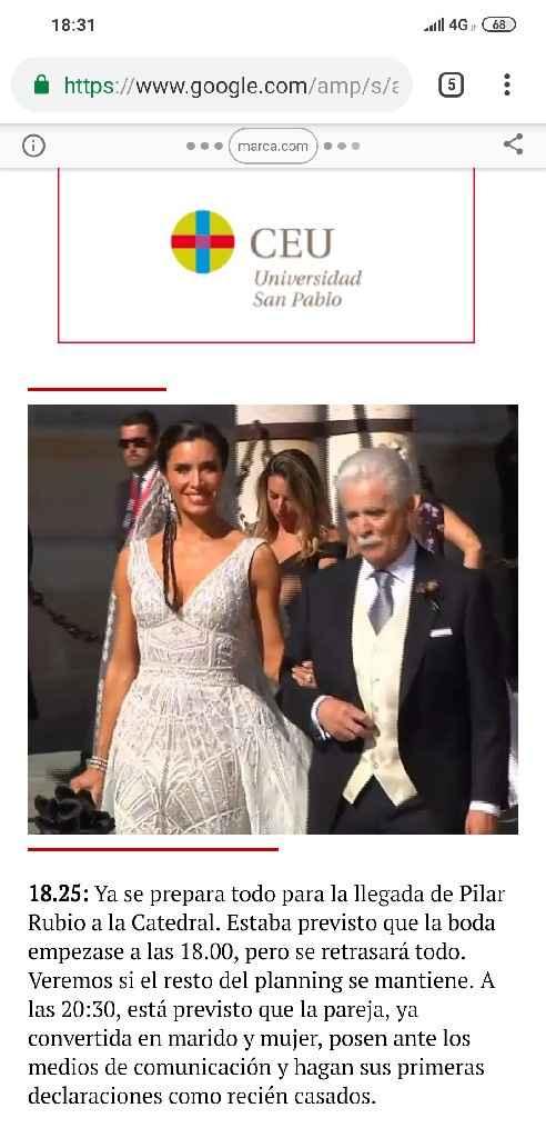 Tema actualidad..  Que opináis de la boda de Sergio Ramos - 1