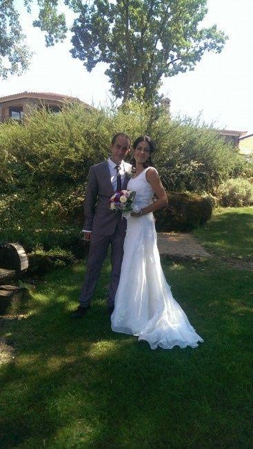 Ya me case con el vestido de mi mami... - 3