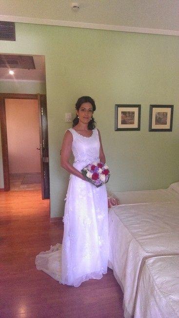 Ya me case con el vestido de mi mami... - 5