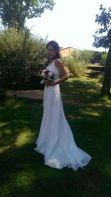 Ya me case con el vestido de mi mami... - 1
