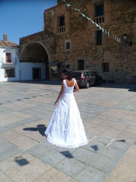 Ya me case con el vestido de mi mami... - 2