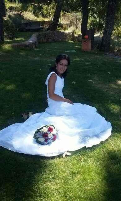 Ya me case con el vestido de mi mami... - 4