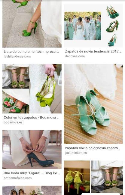 Zapatos verdes o azules ?? 2