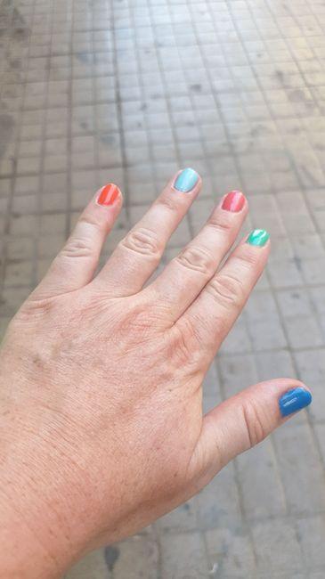 Las uñas de mi despedida 💅🏾. - 1
