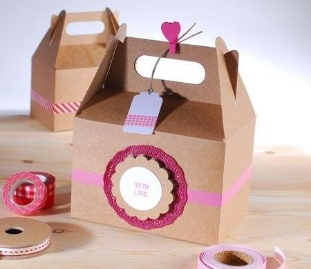 Ayuda d nde consigo bolsas y cajas para detalles madrid foro - Cajas de carton decoradas baratas ...