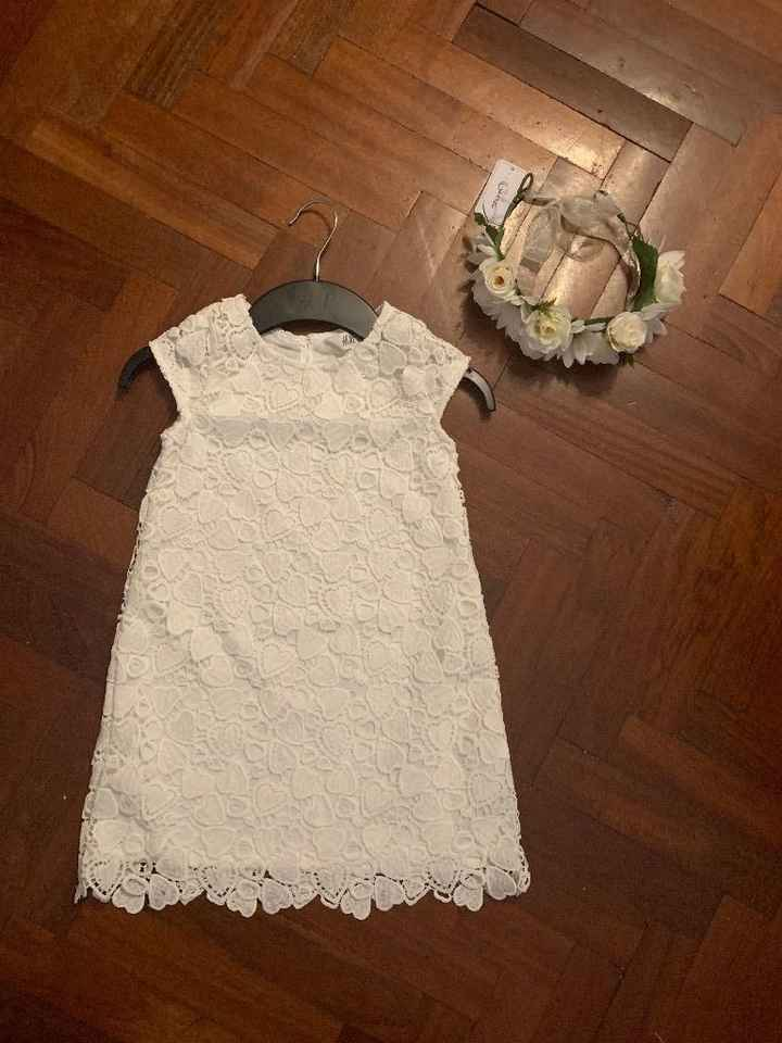 ropa de las niñas