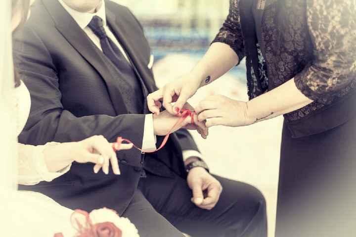 Ritual para la ceremonia civil y regalo para dar la noticia de que van a ser testigos - 1
