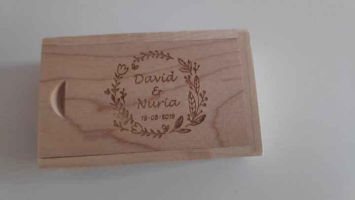 Mis Pendrives de madera personalizados! - 2