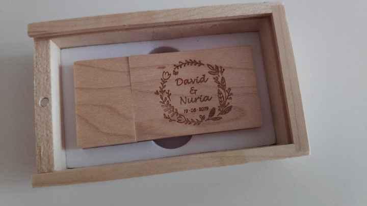 Mis Pendrives de madera personalizados! - 3