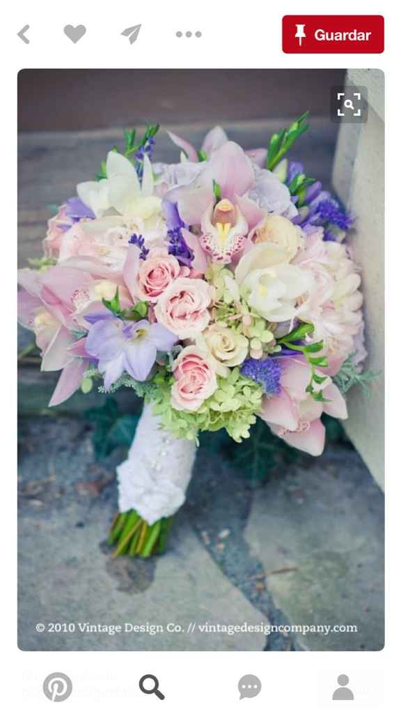 Orquídeas y hortensias - 1