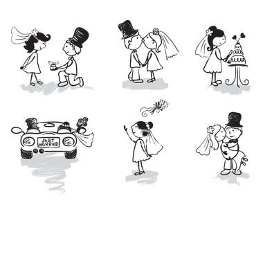 Imagenes y dibujos para tarjetas matrimonio - Imagui