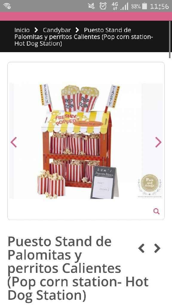 Candy bar bonito y barato - 1