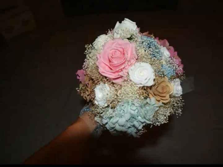 Mi ramo de novia preservado - 4