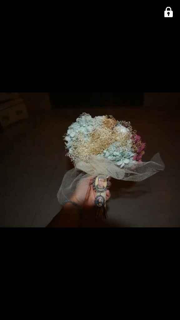 Mi ramo de novia preservado - 5