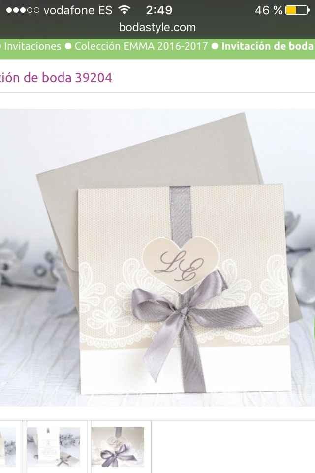 Invitaciones bodastyle.com - 1