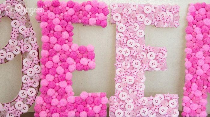 Forrar letras gigantes manualidades foro for Letras gigantes para bodas baratas