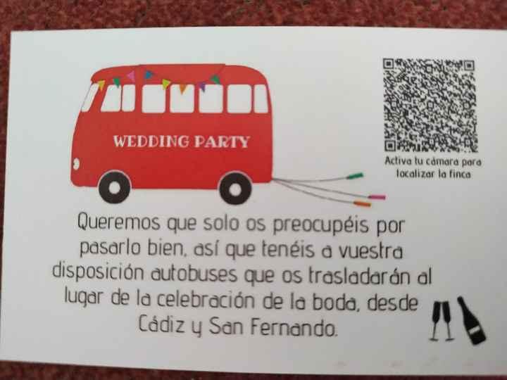 Tarjetas autobuses - 1