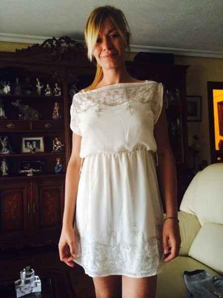 Mi vestido para la firma y Preboda - 3