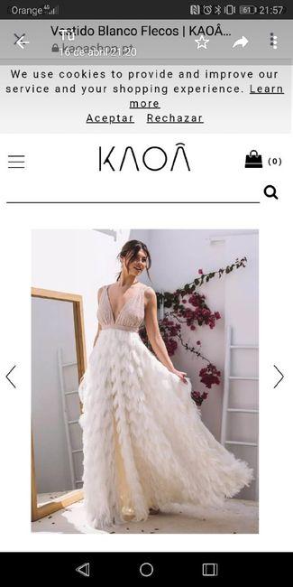 Donde comprar segundo vestido 1