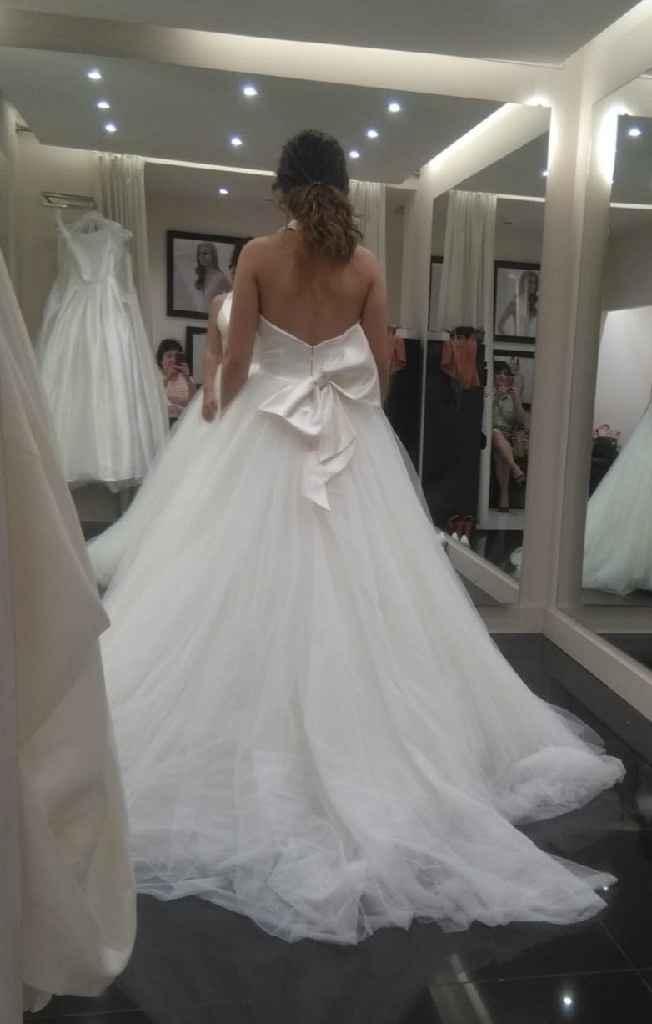 Contentísima! Ya tengo mi vestido soñado!! ❤️ - 1