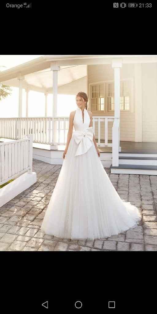 Mi vestido de novia cambiado 😱 - 1