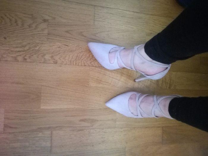 S.o.s. Zapatos rosa palo 1