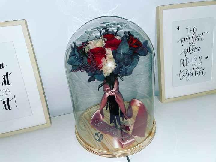 Cupula para ramo de novia - 1