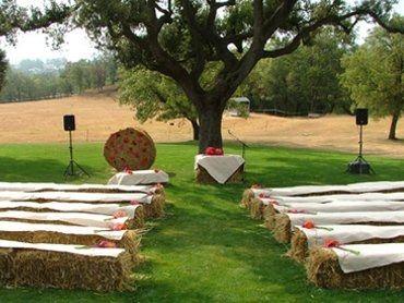 decorado de la ceremonia
