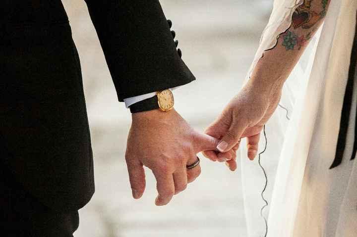 Tatuajes y vestido de novia - 1