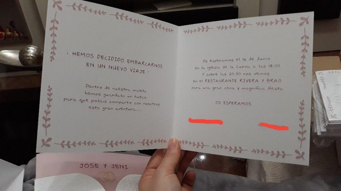 Mis invitaciones 😍😁 - 3