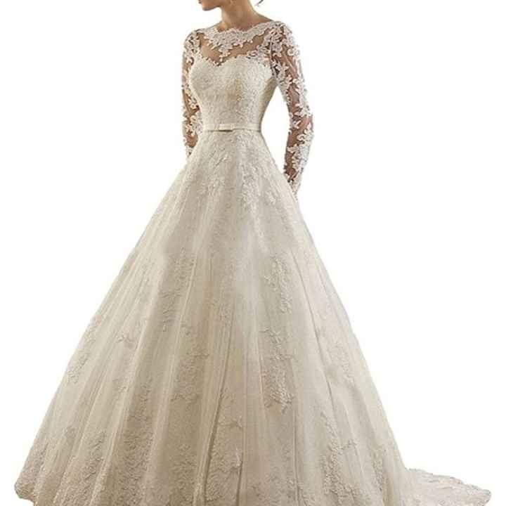 Vestido de novia. - 1