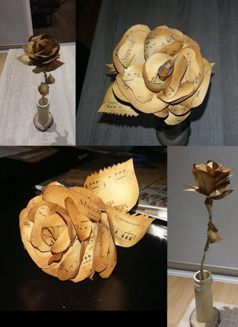 12. Flores papiroflexia