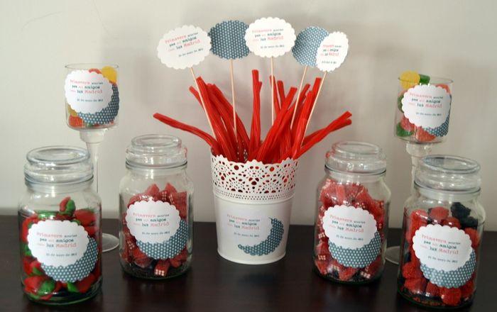 Mesa de chuches banquetes foro - Ideas para decorar mesas de chuches ...