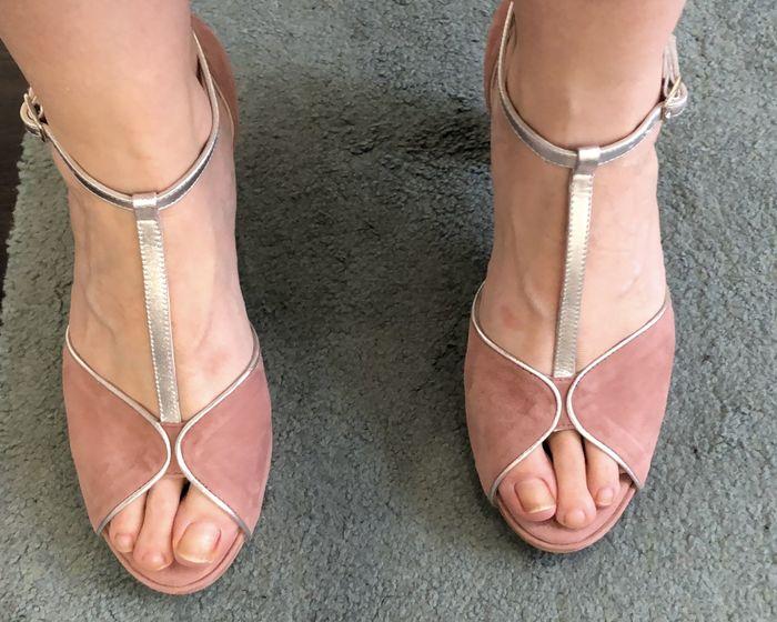 Mis zapatos fueron (o serán).... - 1