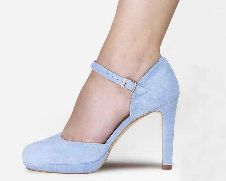Blue shoes - 1