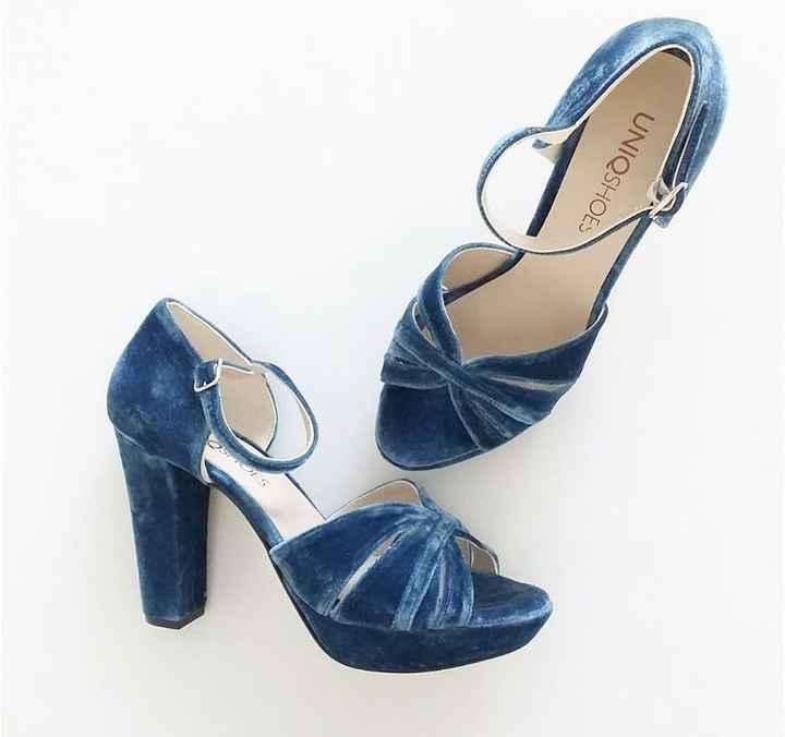 Blue shoes - 3