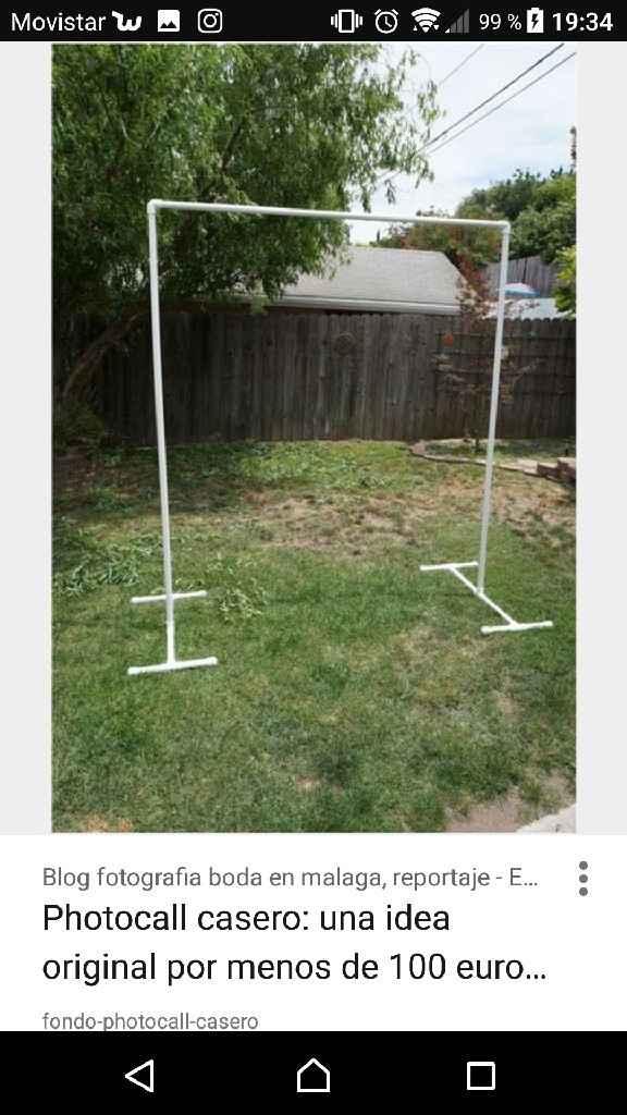 Estructura para photocall 3x3 metros - 1