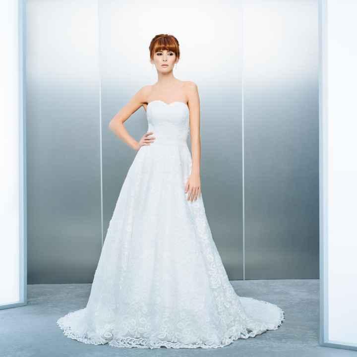Vestidos clara novias  - 1