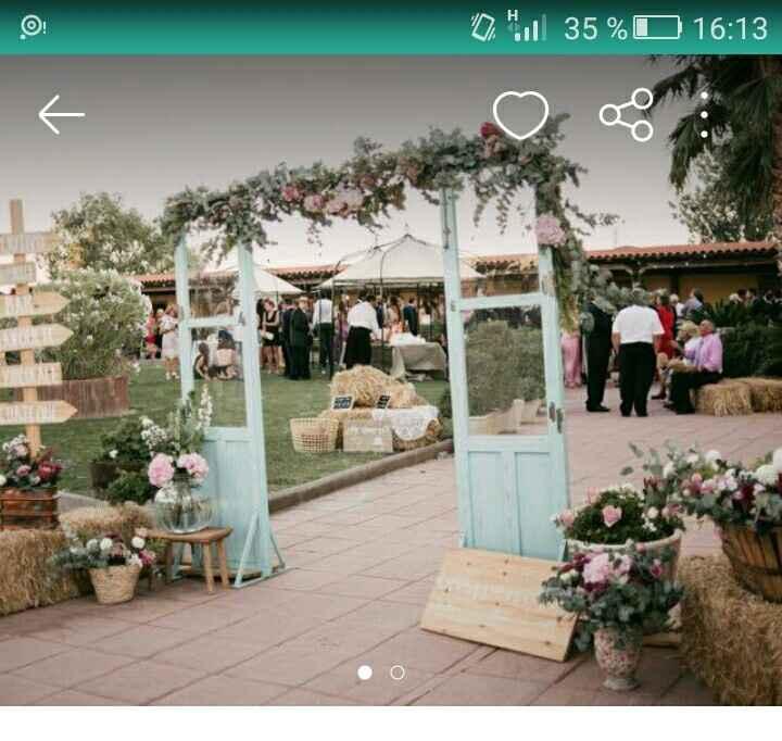 Puertas de entrada ceremonia en jardin - 2