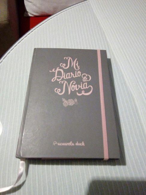 Agenda/diario de boda - 1
